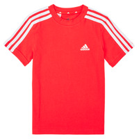 material Boy short-sleeved t-shirts adidas Performance B 3S T Red