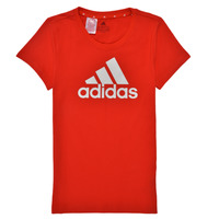 material Girl short-sleeved t-shirts adidas Performance G BL T Red