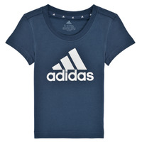 material Girl short-sleeved t-shirts adidas Performance G BL T Marine