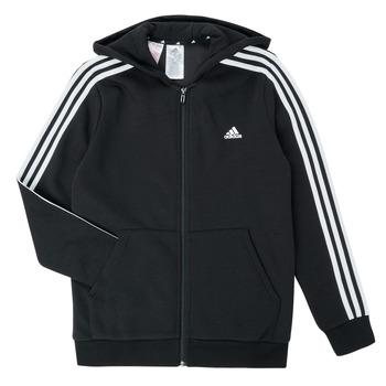 material Boy sweaters adidas Performance B 3S FZ HD Black