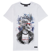 material Boy short-sleeved t-shirts Deeluxe ENFIELDON White