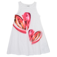 material Girl Short Dresses Desigual 21SGVK12-1000 White