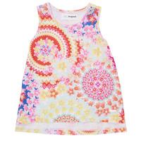 material Girl Tops / Sleeveless T-shirts Desigual 21SGCW02-3146 Multicolour