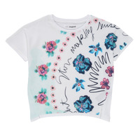 material Girl short-sleeved t-shirts Desigual 21SGTK02-1000 White