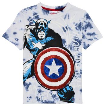material Boy short-sleeved t-shirts Desigual 21SBTK09-5036 Multicolour