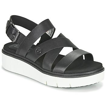 Shoes Women Sandals Timberland SAFARI DAWN FRONT STRAP Black