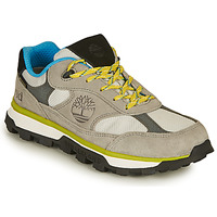 Shoes Children Low top trainers Timberland TRAIL TREKKER LOW GTX Grey / Yellow