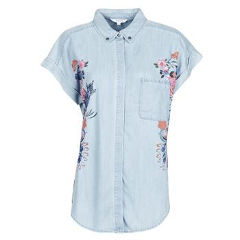 material Women Shirts Desigual SULLIVAN Blue