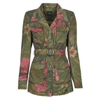 material Women Jackets / Blazers Desigual CAMOASIS Kaki