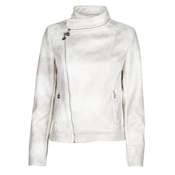 material Women Leather jackets / Imitation le Desigual CARNABY STREET White