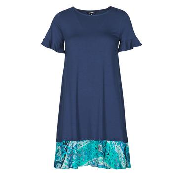 material Women Short Dresses Desigual KALI Marine
