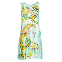 material Women Short Dresses Desigual IVY Multicolour