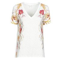 material Women short-sleeved t-shirts Desigual PRAGA White
