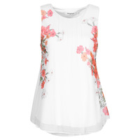 material Women Tops / Sleeveless T-shirts Desigual MILAN White