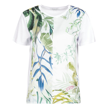 material Women short-sleeved t-shirts Desigual BUDAPEST White