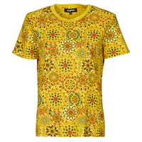 material Women short-sleeved t-shirts Desigual LYON Yellow