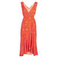 material Women Long Dresses Desigual SANTORINI Red