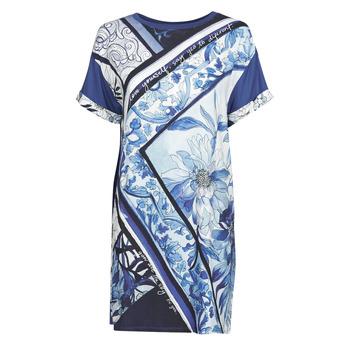 material Women Short Dresses Desigual SOLIMAR Blue