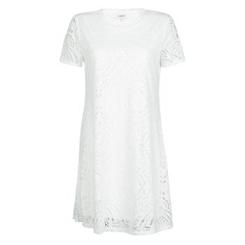 material Women Short Dresses Desigual NILO White