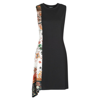 material Women Short Dresses Desigual THAIYU Black
