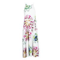 material Women Long Dresses Desigual SENA White