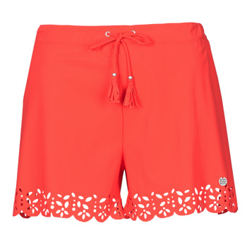 material Women Shorts / Bermudas Banana Moon MEOW Red