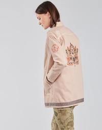 material Women Jackets / Blazers Cream OFELIA JACKET Pink