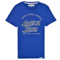 material Boy short-sleeved t-shirts Kaporal MADY Blue