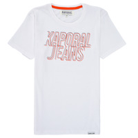 material Boy short-sleeved t-shirts Kaporal MAIL White