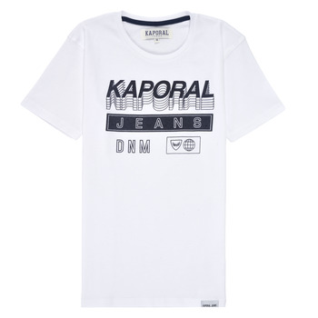 material Boy short-sleeved t-shirts Kaporal MAXIM White