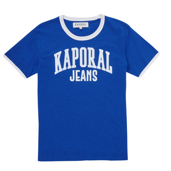 material Boy short-sleeved t-shirts Kaporal METRO Blue