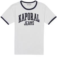 material Boy short-sleeved t-shirts Kaporal METRO White
