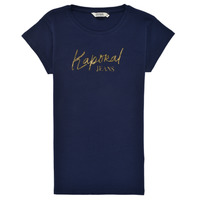 material Boy short-sleeved t-shirts Kaporal ETER Marine