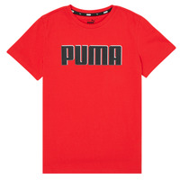 material Boy short-sleeved t-shirts Puma ALPHA GRAF TEE Red