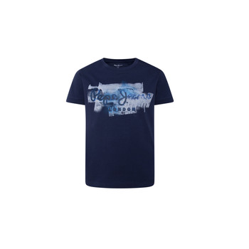 material Boy short-sleeved t-shirts Pepe jeans GOLDERS Marine