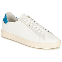 Shoes Low top trainers Clae BRADLEY CALIFORNIA White / Blue