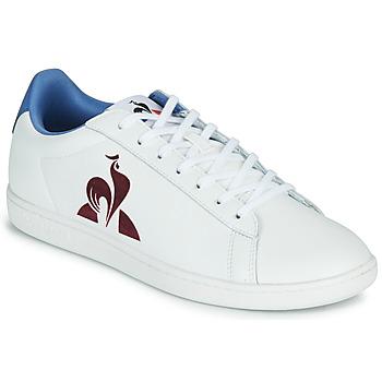 Shoes Men Low top trainers Le Coq Sportif MASTER COURT White / Blue