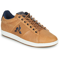 Shoes Men Low top trainers Le Coq Sportif MASTER COURT WAXY Brown / Blue