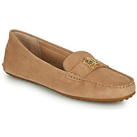 Shoes Women Loafers Lauren Ralph Lauren BARNSBURY FLATS CASUAL Beige
