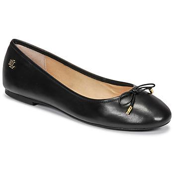 Shoes Women Ballerinas Lauren Ralph Lauren JAYNA Black