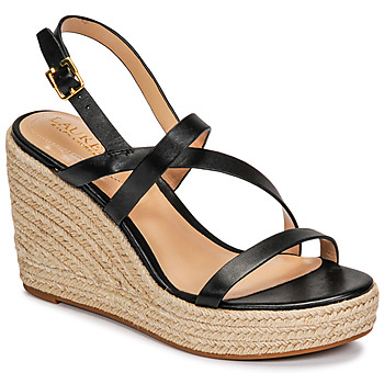 Shoes Women Sandals Lauren Ralph Lauren HALEIGH Black