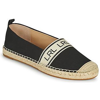 Shoes Women Espadrilles Lauren Ralph Lauren CAYLEE Black