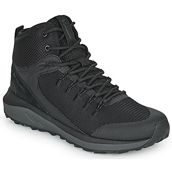 Shoes Men Hiking shoes Columbia TRAILSTORM MID WATERPROOF Black