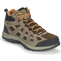 Shoes Men Hiking shoes Columbia REDMOND III MID WATERPROOF Brown