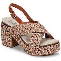 Shoes Women Sandals Elue par nous JOMARIN Beige