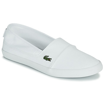Shoes Women Slip ons Lacoste MARICE BL 2 SPW White