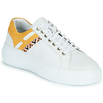 Shoes Women Low top trainers Metamorf'Ose JANINA Yellow