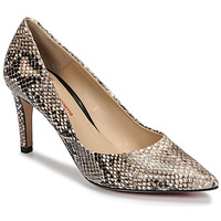 Shoes Women Court shoes Perlato 10509-PYTON-NATUREL Python / Natural