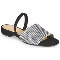 Shoes Women Sandals Perlato 11117-YORK-ARGENT-CAM-NOIR Black / Silver