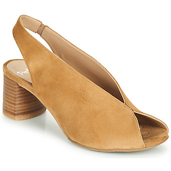 Shoes Women Sandals Perlato 11803-CAM-CAMEL Camel